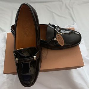 New Tod's Dark Brown Loafers / Shoes